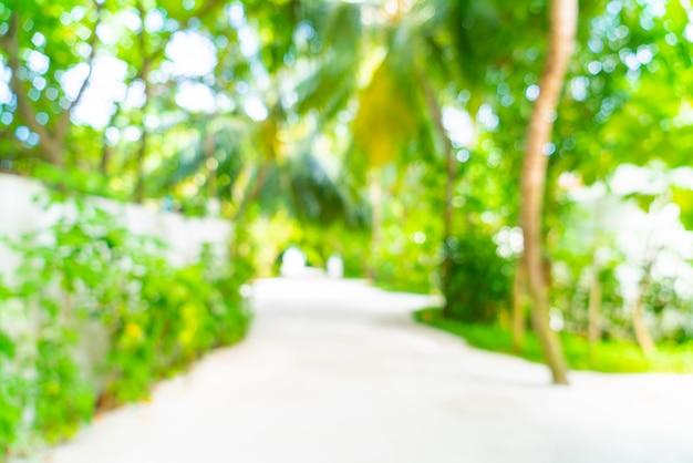Abstraktes verschwommenes resort und hotel für freizeitreise- und urlaubskonzept Premium Fotos