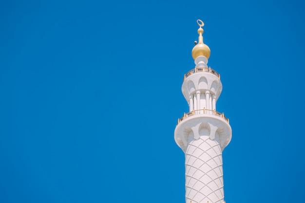 Abu dhabi große moschee Premium Fotos