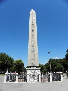 Ägyptischen obelisken in istanbul Kostenlose Fotos