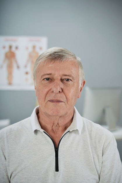 Älterer patient Kostenlose Fotos