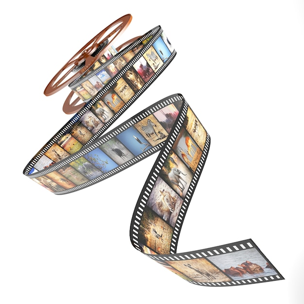 Afrika-film Premium Fotos
