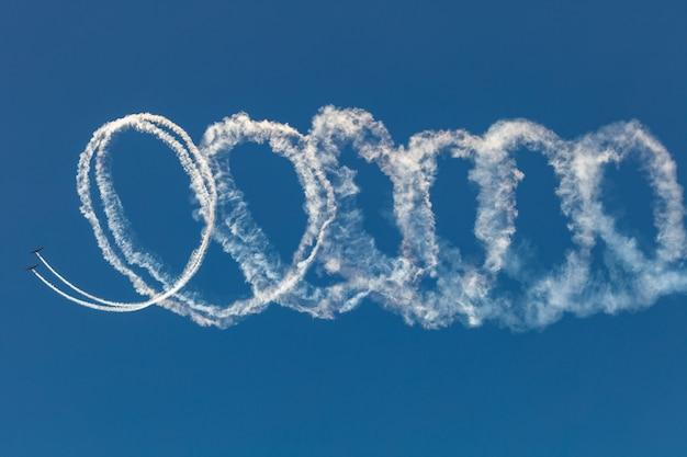 Aircraft grob des aerosparx-teams Premium Fotos