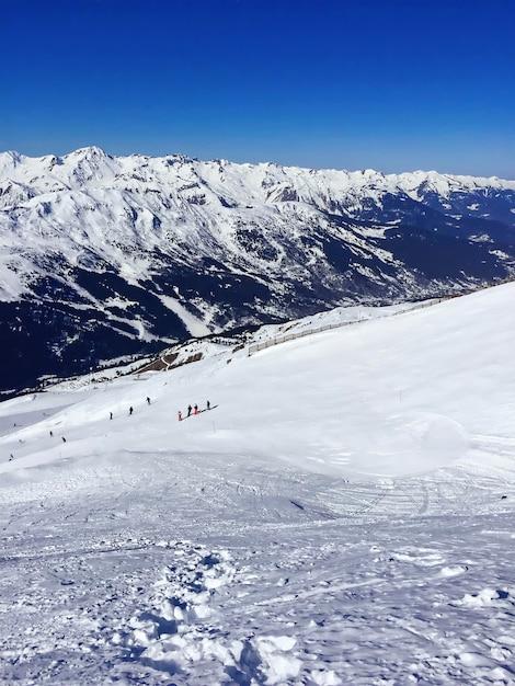 Alpenberge in frankreich Premium Fotos