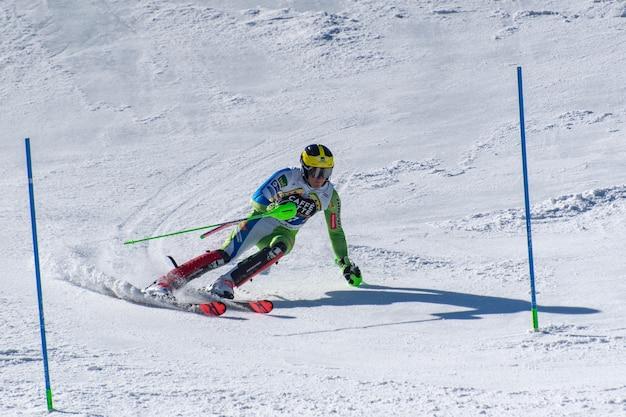 Alpine ski weltcup fina Kostenlose Fotos