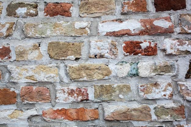 Alte backsteinmauerbeschaffenheit Premium Fotos