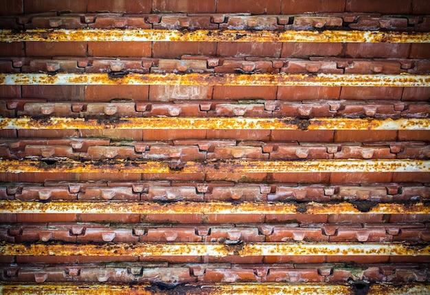 Alte dachkonstruktion Premium Fotos