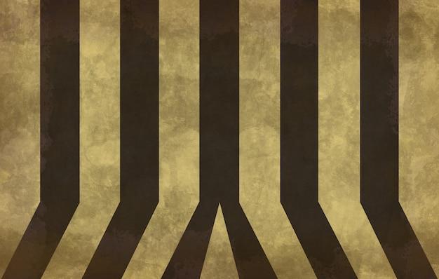 Alte gelbe und schwarze wand der schmutzweinlese unter verwendung als hintergrund Premium Fotos