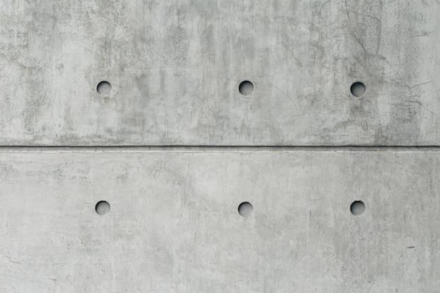 Alte grungy beschaffenheit, hohes detail der grauen festen betonmauer Premium Fotos