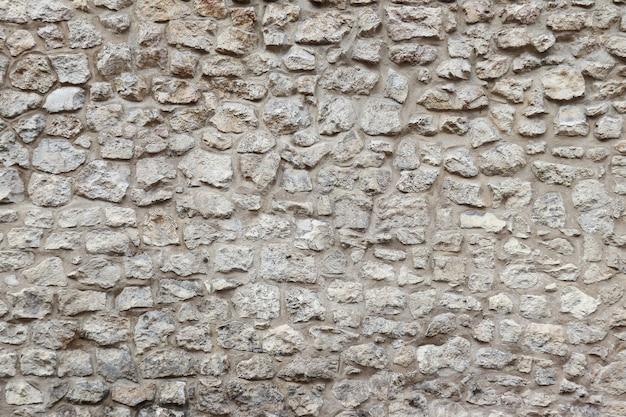 Alte mauer mit steinen und zement Premium Fotos