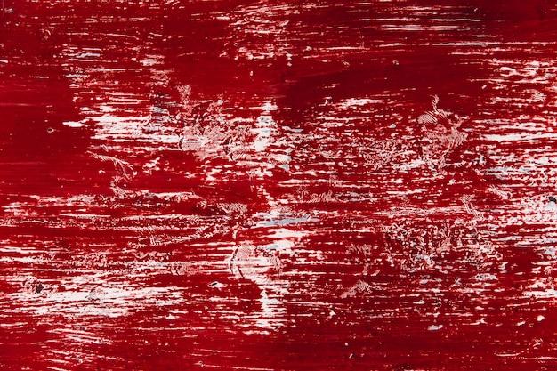 Alte wand mit roter farbe der schmutzigen farbe sehen wie blutschmutz-unebenheitsfleck-beschaffenheitshintergrund aus Premium Fotos
