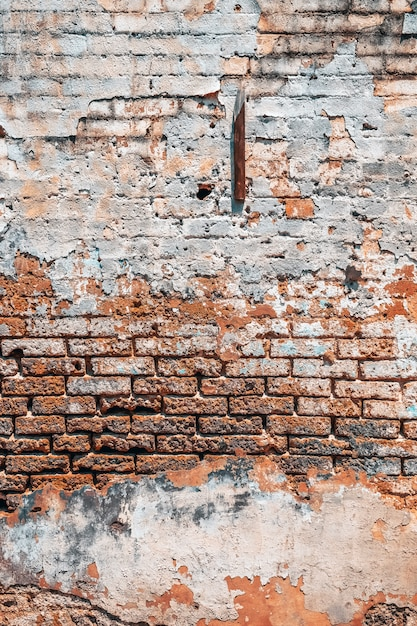 Alter backsteinmauerhintergrund Premium Fotos