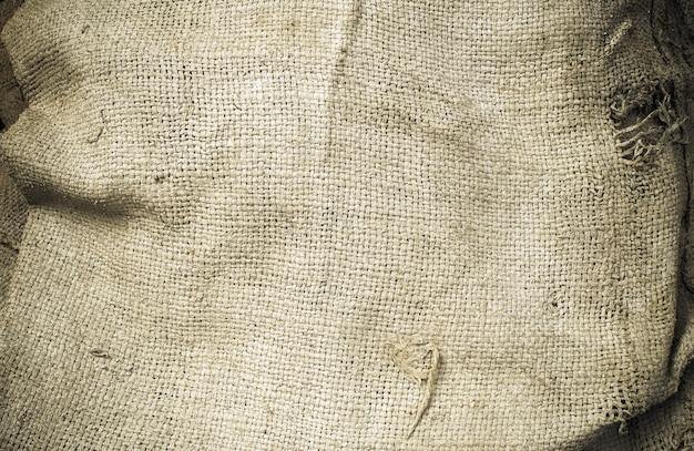Alter hanfsackschmutz, benutzt für beschaffenheit und hintergrund Premium Fotos