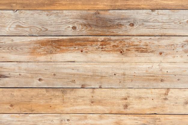 Alter verblaßter naturholzhintergrund der gelben kiefer Premium Fotos