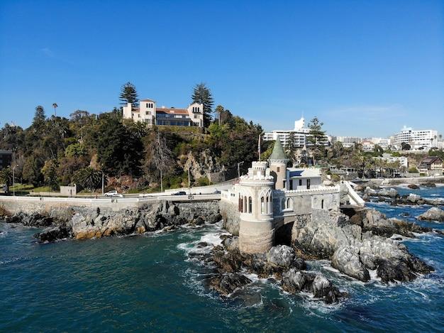 Altes öffentliches schloss und präsidentenpalast, vina del mar, chile Premium Fotos