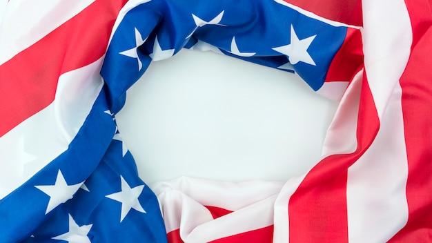 Amerikanische flagge hintergrund Premium Fotos