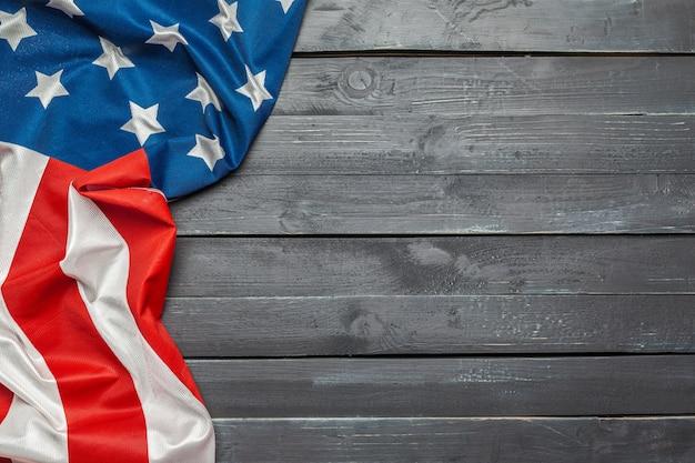 Amerikanische flagge Premium Fotos