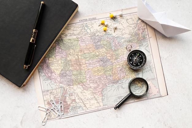 Anordnung eines reiseferien Kostenlose Fotos