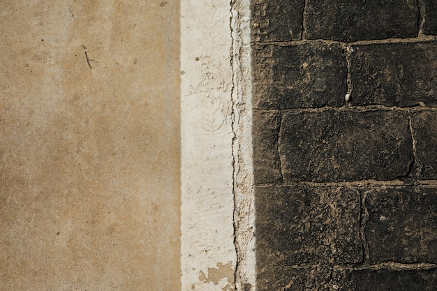 Ansicht der alten steinmauer Kostenlose Fotos