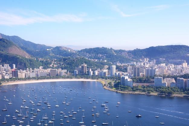 Ansicht von rio de janeiro, brasilien. Premium Fotos