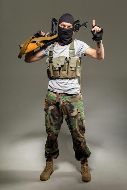 Anti-terrorist Premium Fotos