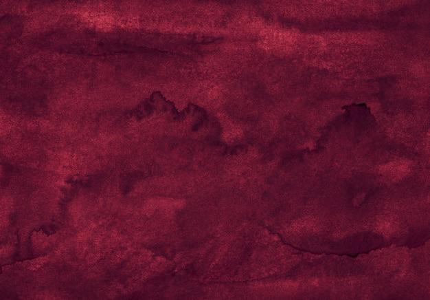 Aquarell tief kastanienbraun textur hintergrund handgemalt Premium Fotos