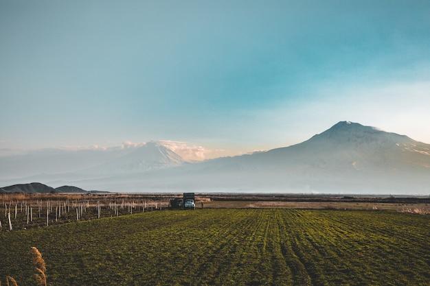 Ararat valley view von armenien Kostenlose Fotos