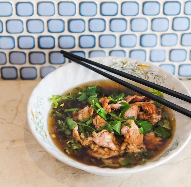 Asian essen gericht bohnenkraut menü geschmack Kostenlose Fotos