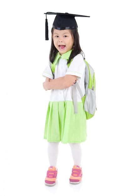 Heißes Asiatisches Schulmädchen