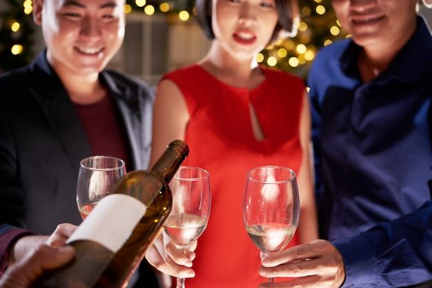 Auf der party trinken Kostenlose Fotos