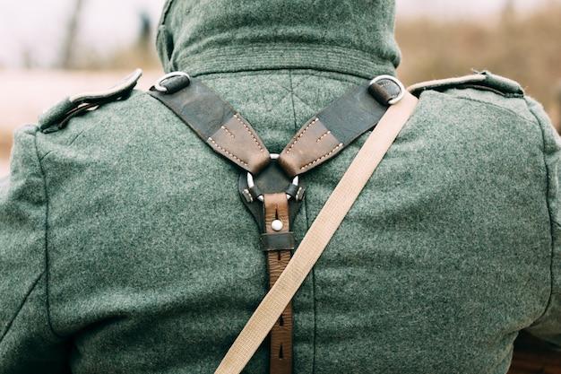 Ausrüstung und uniformen des deutschen soldaten Premium Fotos