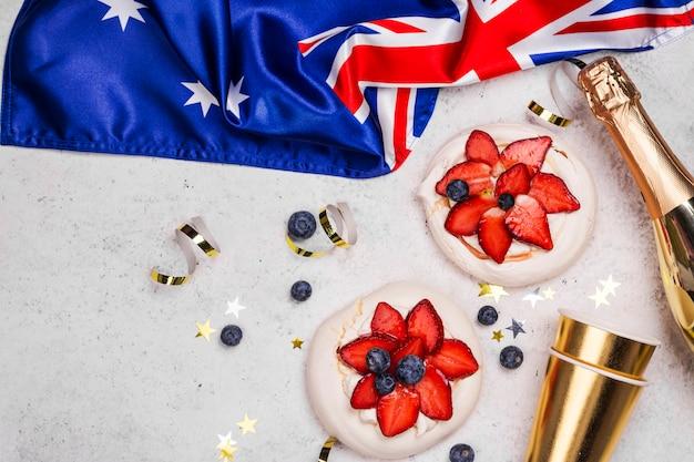 Australia day konzept Premium Fotos