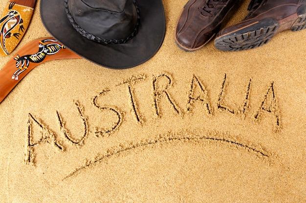 Australien hintergrund Premium Fotos