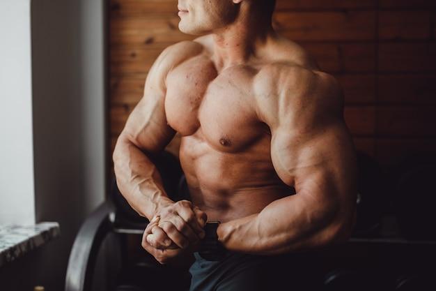 Ausübung männer kaukasischen energie training Kostenlose Fotos