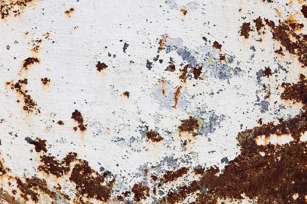 Auszug korrodierter bunter rostiger metallhintergrund Premium Fotos