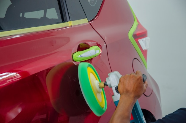 Auto detaillierung Premium Fotos
