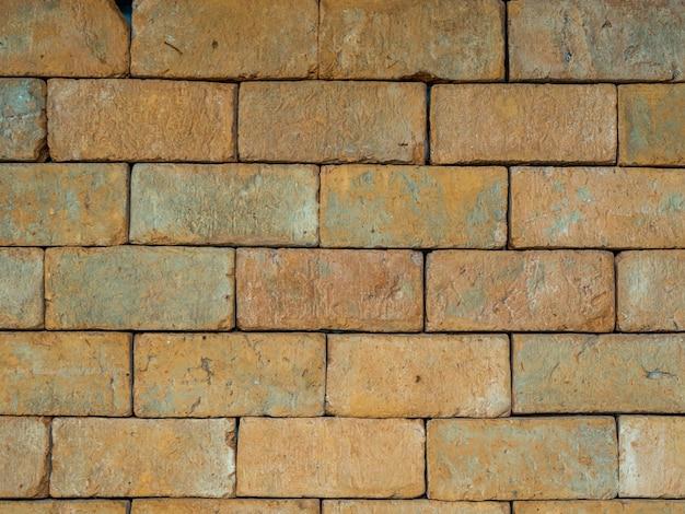 Backsteinmauer textur hintergrund Premium Fotos