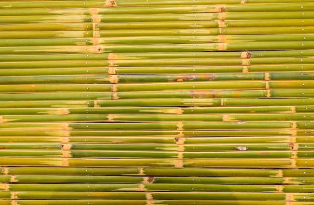 Bambuszaunhintergrund und -beschaffenheit Premium Fotos