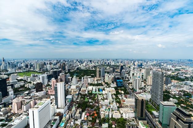 Bangkok-stadtbild in thailand Premium Fotos
