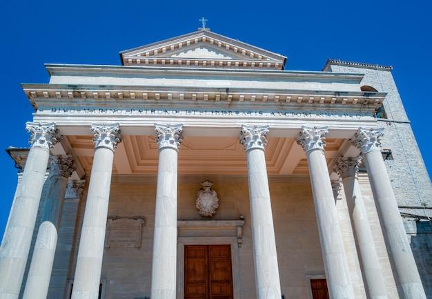 Basilika in san marino Premium Fotos