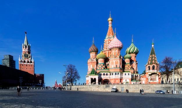 Basilius-kathedrale in moskau Premium Fotos
