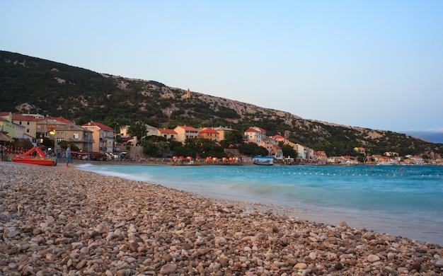 Baska, kroatien Premium Fotos