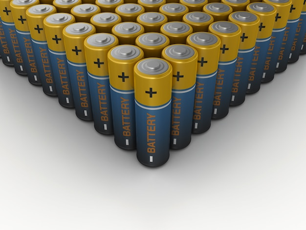 Batterien Premium Fotos