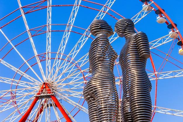 Batumi miracle park Premium Fotos