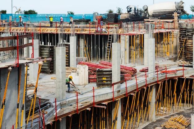 Bau neuer betonhäuser Kostenlose Fotos