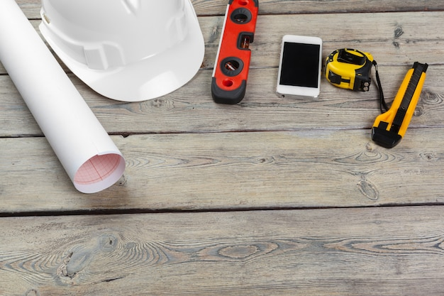 Bauarbeiter liefert Premium Fotos