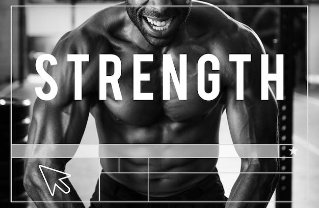 Bauen sie ihre eigene körperkraft fitness-übung get fit Kostenlose Fotos