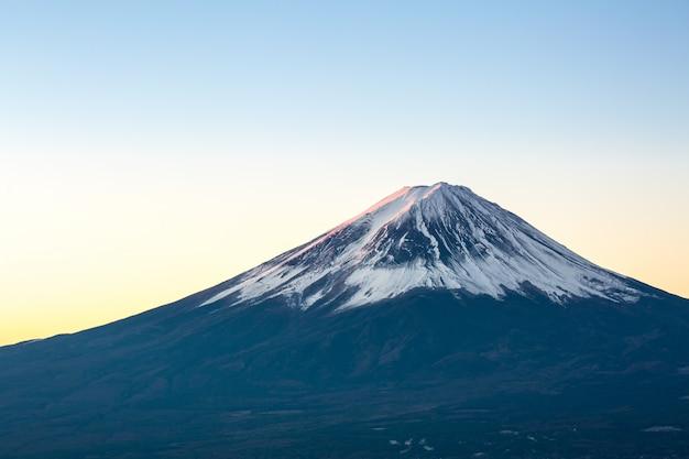 Berg fuji sonnenaufgang japan Premium Fotos