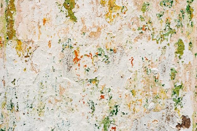 Beschaffenheit einer betonmauer mit sprüngen und kratzern Premium Fotos