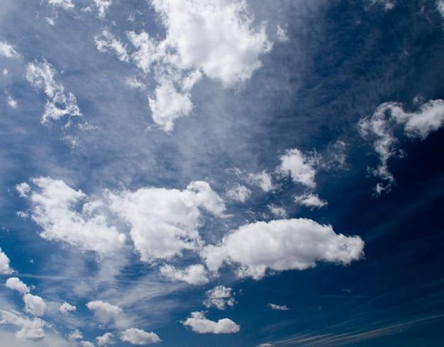 Bewölkt und blauen himmel Kostenlose Fotos