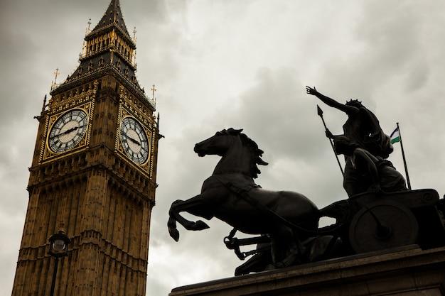 Big ben in london, großbritannien Premium Fotos